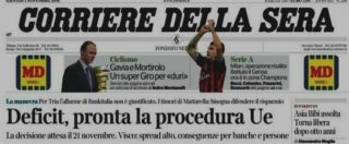 """Corriere della Sera, il corrispondente accusa il direttore: """"Notizia inesistente in prima su procedura infrazione Ue-Italia"""""""
