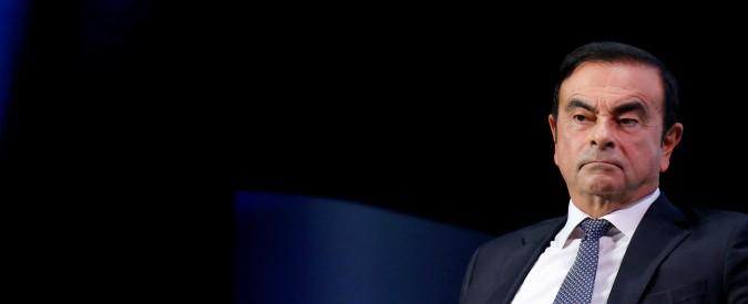 """Nissan, la prima uscita di Carlos Ghosn dopo l'arresto: """"Accusato ingiustamente"""""""