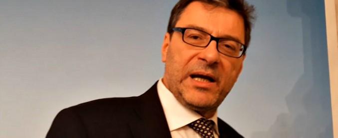 """Conti pubblici, Giorgetti: """"Nei prossimi mesi verifichiamo se servirà una manovra correttiva"""""""