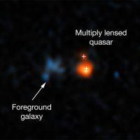 Hubble ha scoperto il quasar più brillante mai visto nell'Universo primordiale