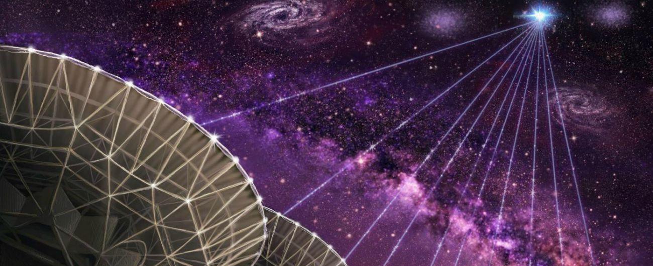 """Rilevato """"misterioso"""" segnale ripetitivo di onde radio proveniente da una galassia a 1,5 miliardi di anni luce"""