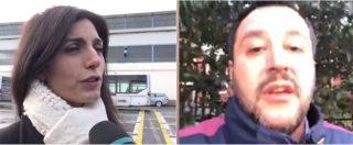 """Roma, lite Salvini-Raggi. Il vicepremier: """"Non regaleremo soldi alla capitale"""". La sindaca: """"Sulla sicurezza faccia i fatti"""""""
