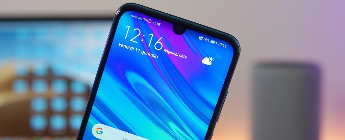 Le prime impressioni sullo smartphone Huawei P Smart 2019 da 249 euro