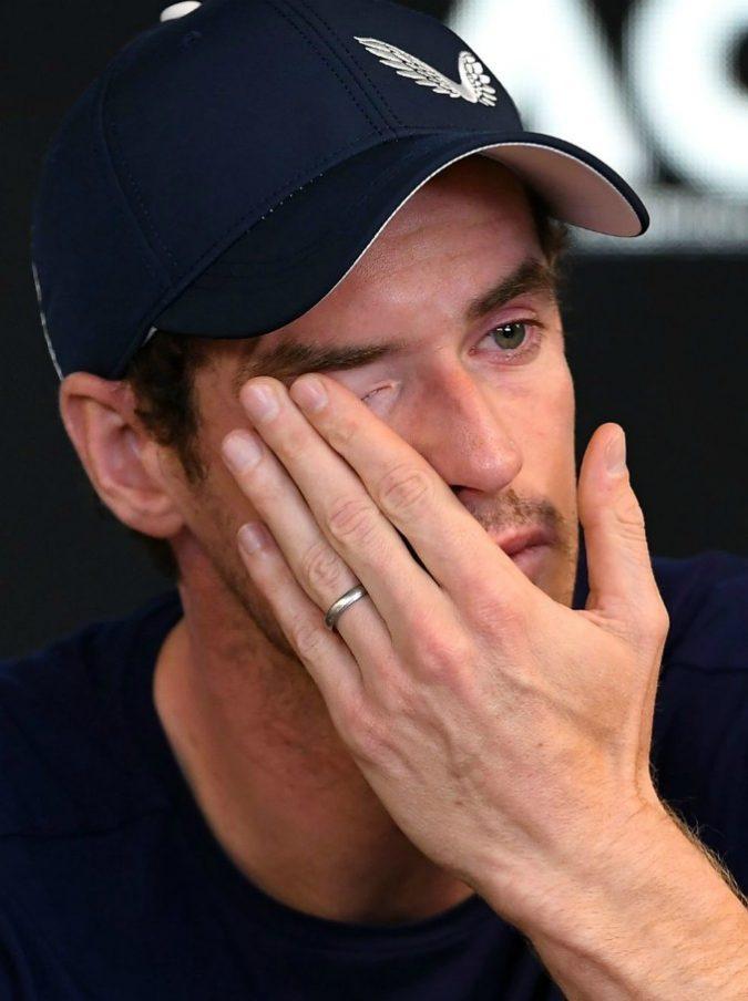"""Tennis, Andy Murray annuncia in lacrime il suo ritiro: """"Non posso continuare così"""""""