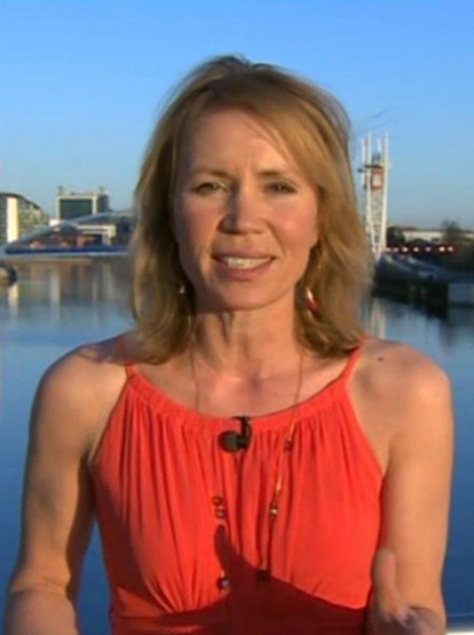 Dianne Oxberry, meteorologa della BBC muore a 51 anni a causa di un cancro