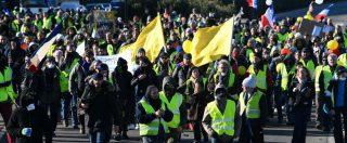 Gilet gialli, la nona manifestazione in Francia: 84mila persone in piazza. Proteste anche a Londra contro la May