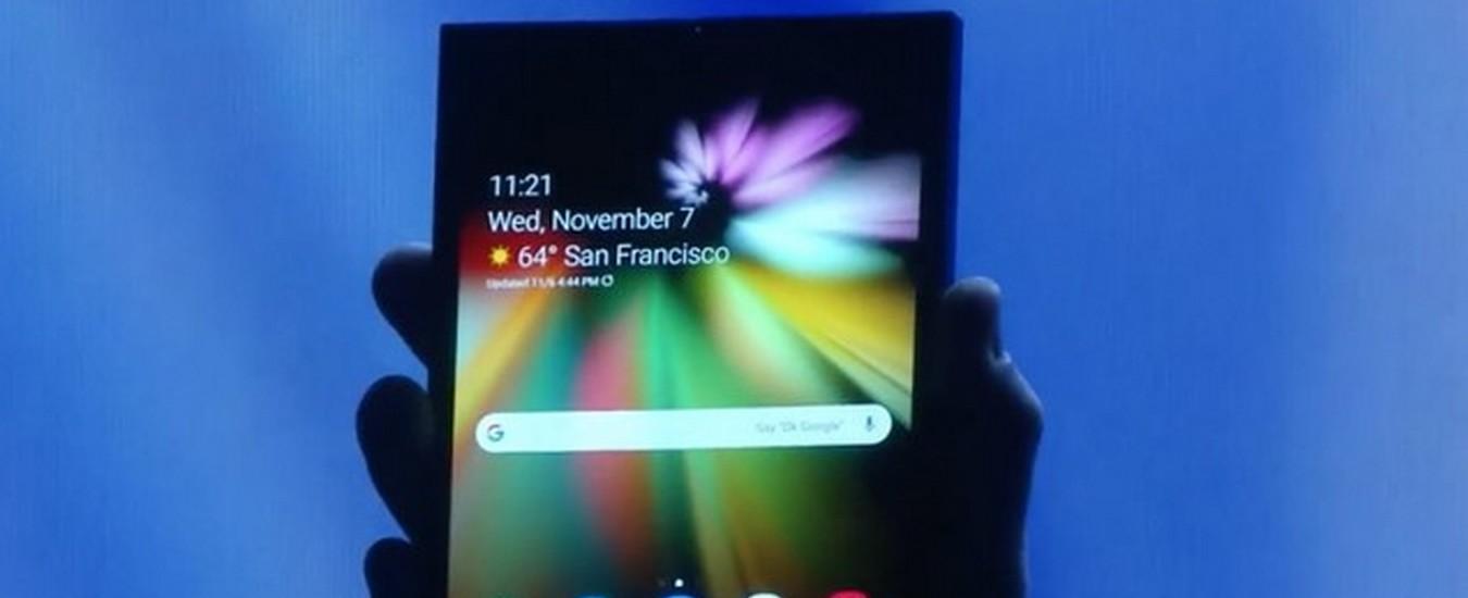 Samsung svelerà lo smartphone pieghevole il 20 febbraio a San Francisco