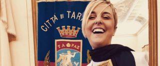 """Nadia Toffa cittadina onoraria di Taranto: """"Questa città ce la può fare. La vita è questa, devi trasformare la sfiga in sfida"""""""