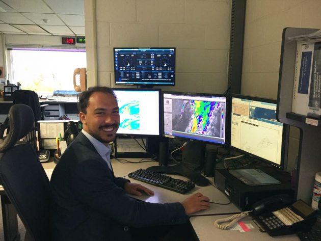 Meteorologo alle Bermuda. 'In Italia il meteo è quasi associ