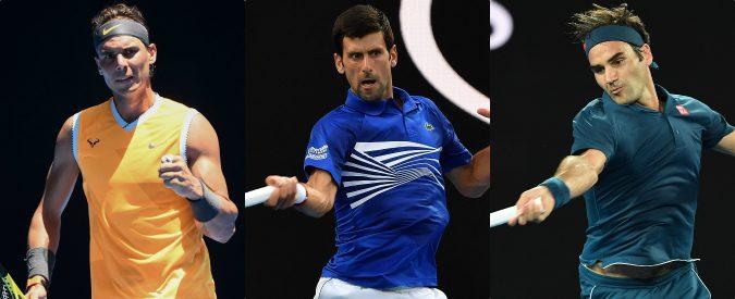 Australian Open 2019: Djokovic, Federer e Nadal. I favoriti sono sempre i soliti noti