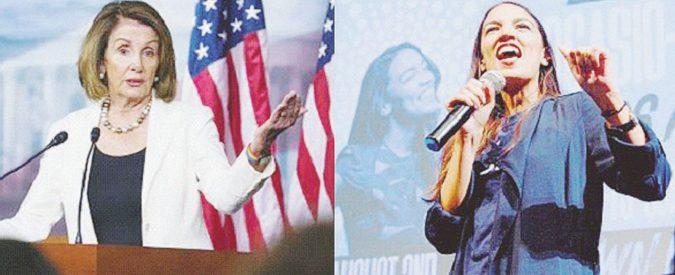 Pelosi vs AOC: la sfida nei Dem