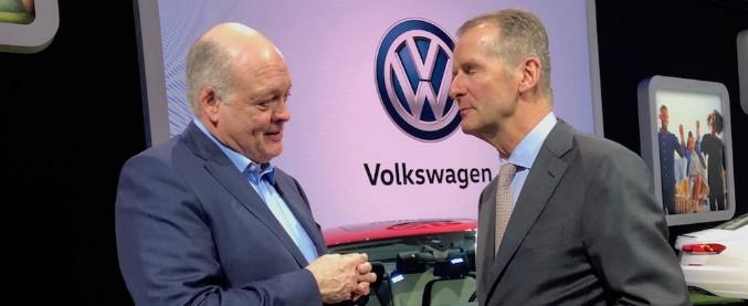Ford-Volkswagen, nasce a Detroit la nuova alleanza per l'auto globale