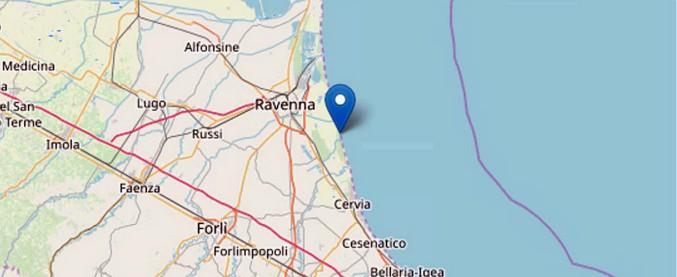 Terremoto in Emilia Romagna, scossa di magnitudo 4.6 a Ravenna: paura ma nessun danno. Chiuse le scuole