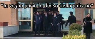 """Battisti, il video esilarante che sfotte Bonafede sullo spot: """"Voglio anch'io la divisa della 'polizzia'"""". E poi: """"Si balla!"""""""