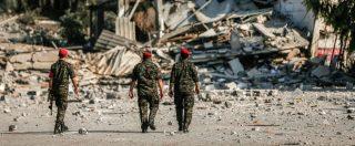 Gaza, i tre carabinieri italiani hanno lasciato la sede Onu