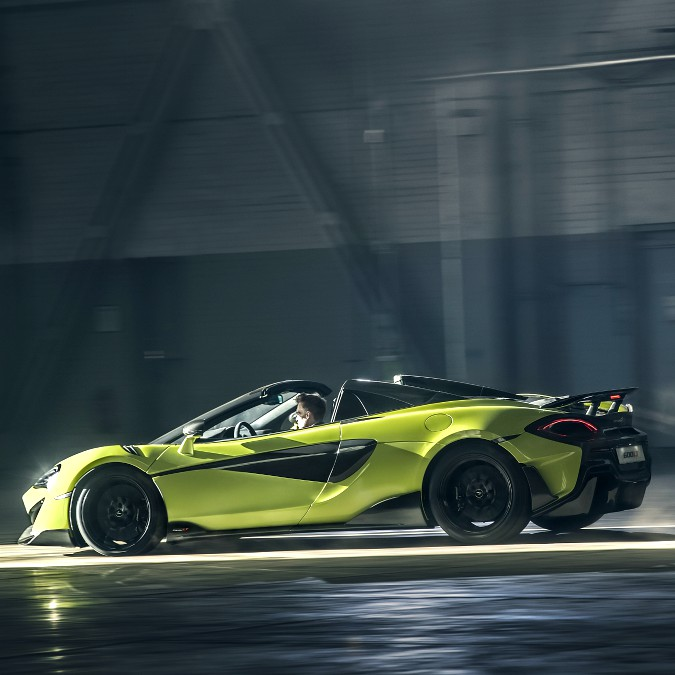 McLaren 600LT, in rampa di lancio anche la variante Spider – FOTO