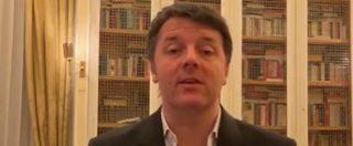 """Brexit, Renzi: """"Le bugie dei populisti hanno le gambe corte. Il tempo è galantuomo a Londra come a Roma"""""""