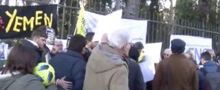 "Supercoppa Milan-Juve, sit-in di protesta davanti ambasciata Saudita. Usigrai: ""Scelta scellerata"""