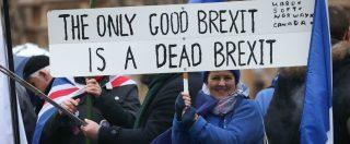 """Brexit, Ue: """"Divorzio senza accordo è possibile"""". E Londra discute un """"piano B"""" il 29 gennaio"""