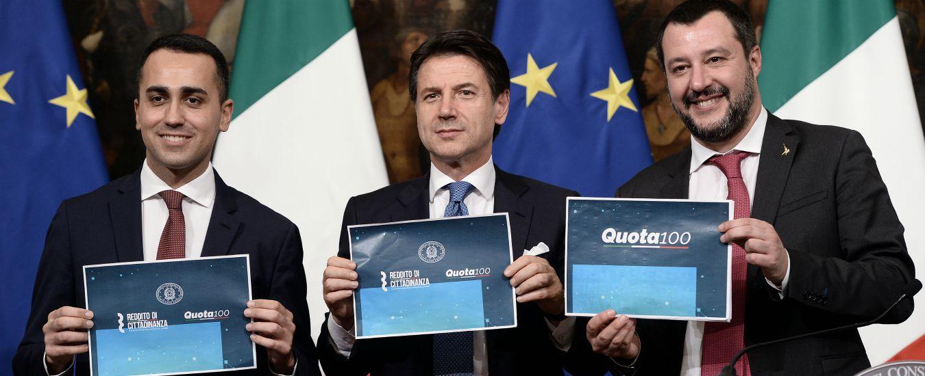Decretone, emendamenti di governo e relatori: 50 euro in più alle famiglie con disabili, pensione di cittadinanza cash