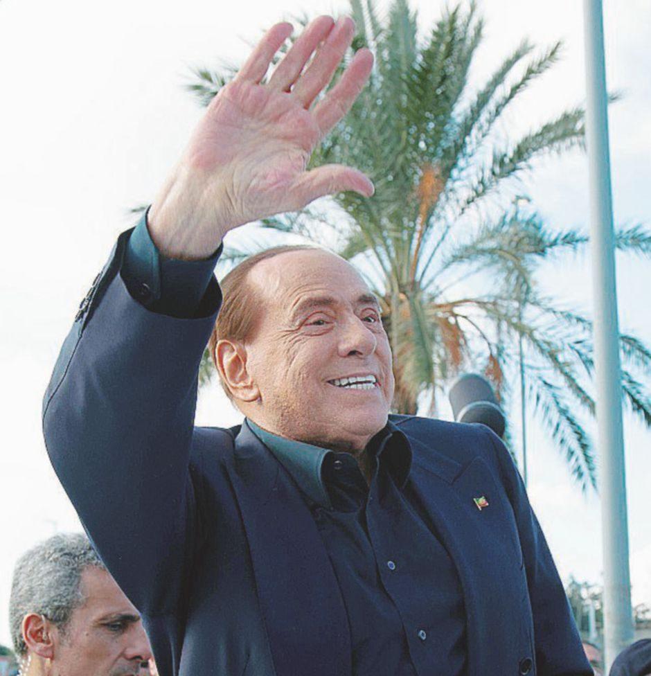 Berlusconi in campo per il 10%