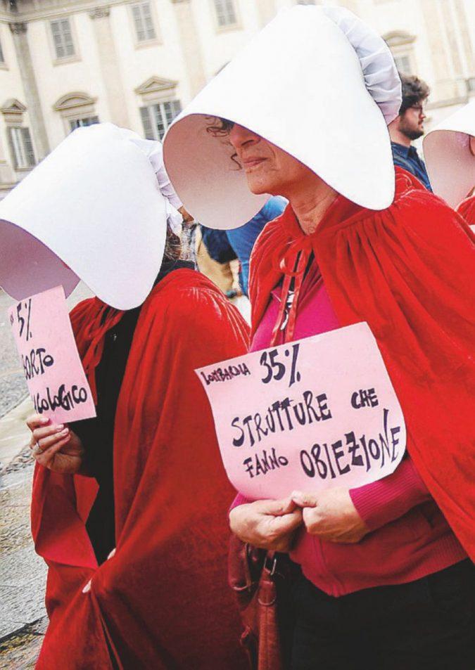 Meno aborti, stessi obiettori