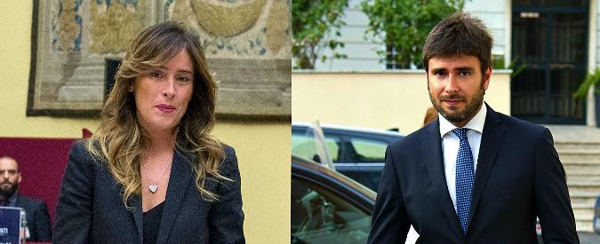 Reddito, scontro social tra Boschi e Di Battista: 'Io radical chic? Resto contraria'. Lui: 'Vallo a dire alle cene da 6mila euro'