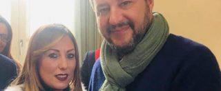 Afragola, per Salvini selfie con l'assessore Acri, moglie di un imputato per concorso esterno