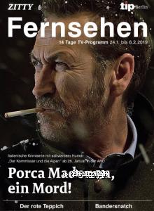 La rivista tedesca pubblicizza una serie con Marco Giallini