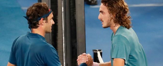 """Australian Open, Tsitsipas batte Federer: chi è il 20enne greco che ora punta a scalzare i """"vecchi"""" dal trono del tennis"""