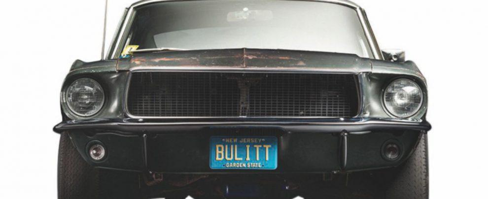 Al volante della Mustang 50 anni dopo Steve McQueen