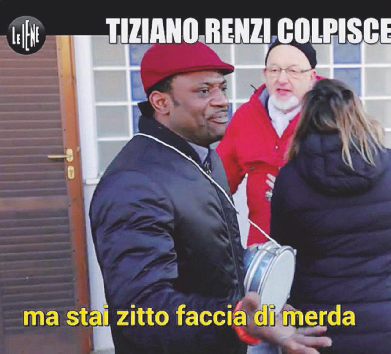 """Tiziano all'ex operaio: """"Via, faccia di merda"""""""