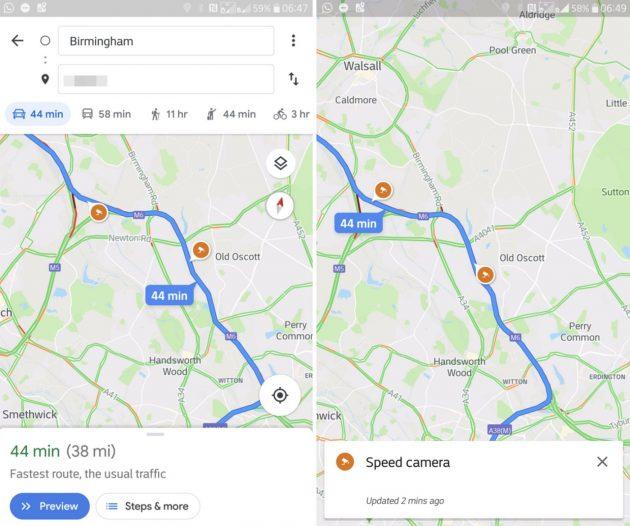 Google Maps vi indicherà dove sono gli autovelox, test avvia
