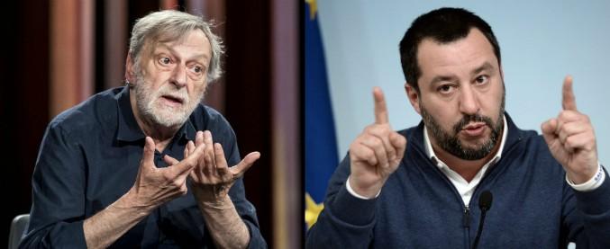 Gino Strada attacca il governo: 'Metà fascisti metà coglioni. Idee hitleriane'. E Salvini: 'Fine mangiatoia li fa impazzire'