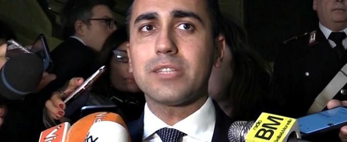 """Trivelle, Di Maio: """"Sono un attacco agli italiani e al nostro mare. Non svenderò nulla ai petrolieri del resto del mondo"""""""