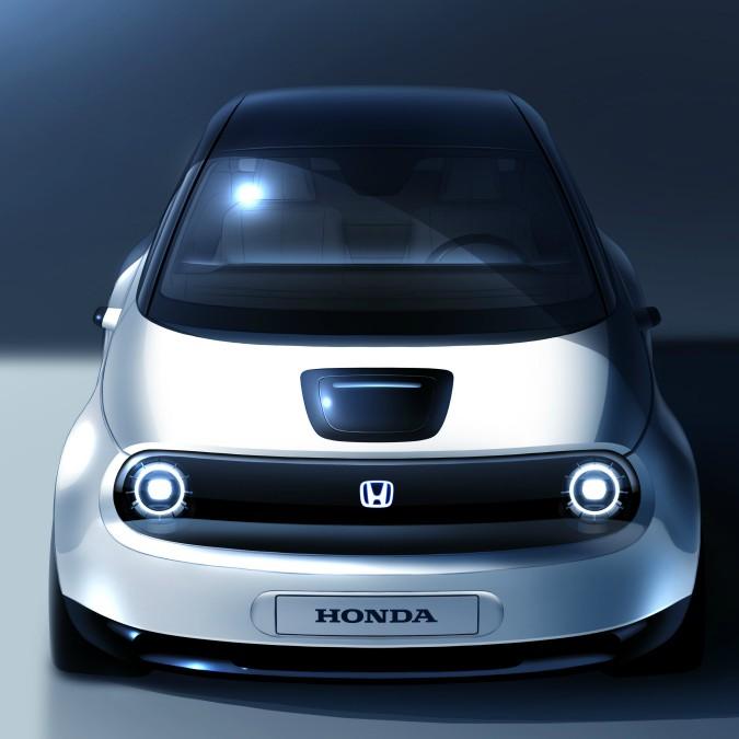 Honda, ecco la nuova city car elettrica per il salone di Ginevra