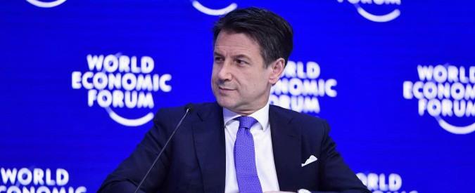 """Giuseppe Conte, il discorso integrale a Davos: """"L'Euro doveva risolvere tutti i problemi. La realtà è molto diversa"""""""
