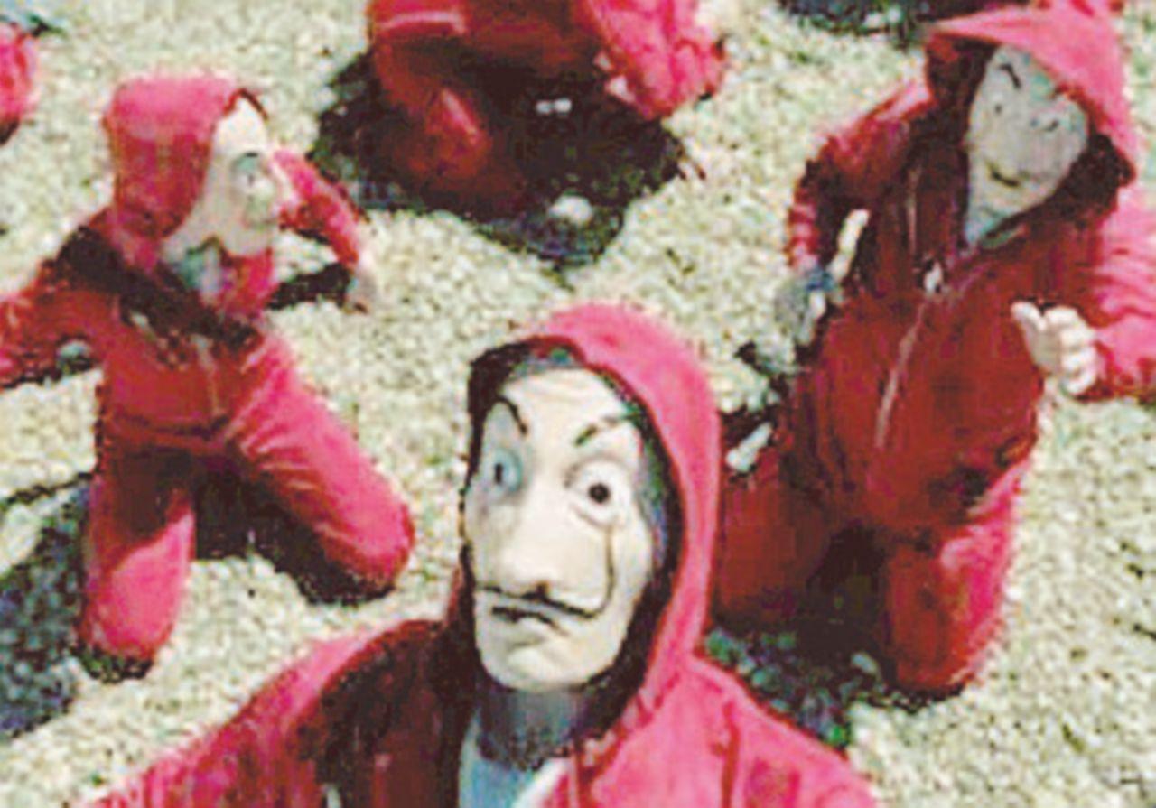 """Tirate giù la maschera: la Fondazione Dalí contro """"La casa di carta"""""""