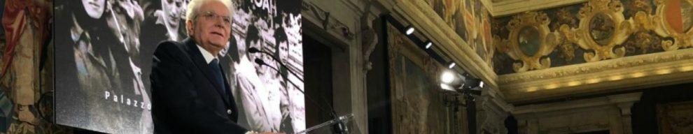 """Giorno memoria, Mattarella: """"Negare diverso porta a immani tragedie. Reagire alla riproposizione di falsi documenti, basati su ridicole teorie cospirazioniste"""""""