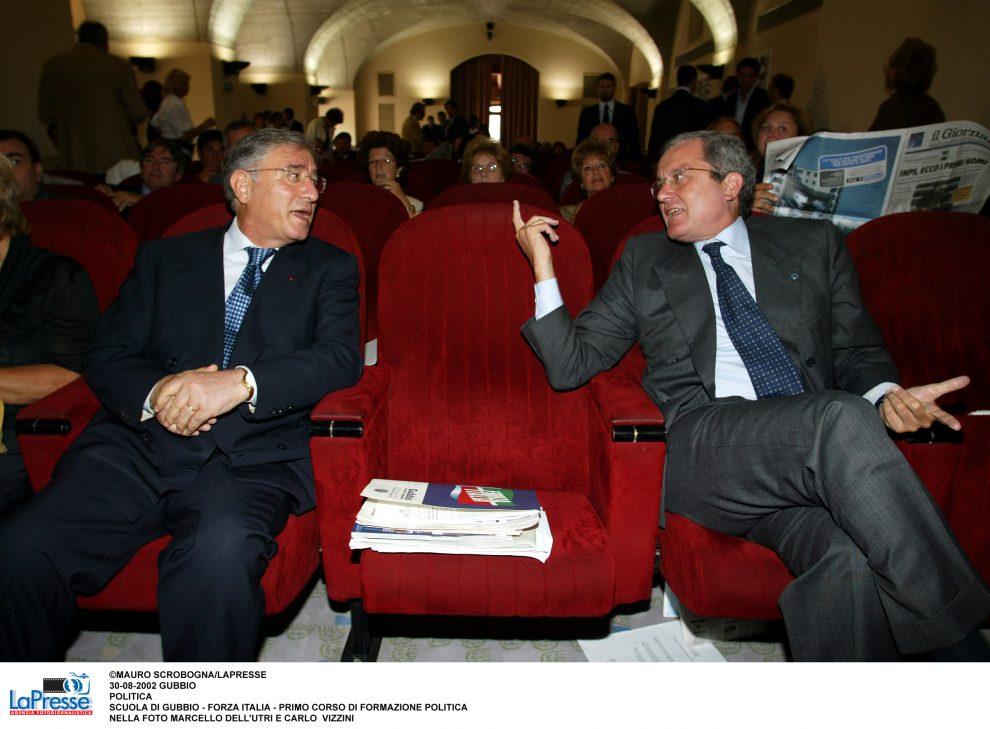 Dell'Utri e Carlo Vizzini