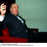 Lucio Colletti, deputato di Forza Italia
