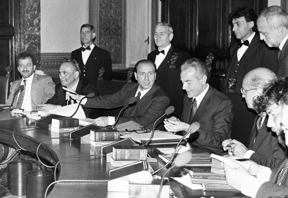 Il primo governo Berlusconi