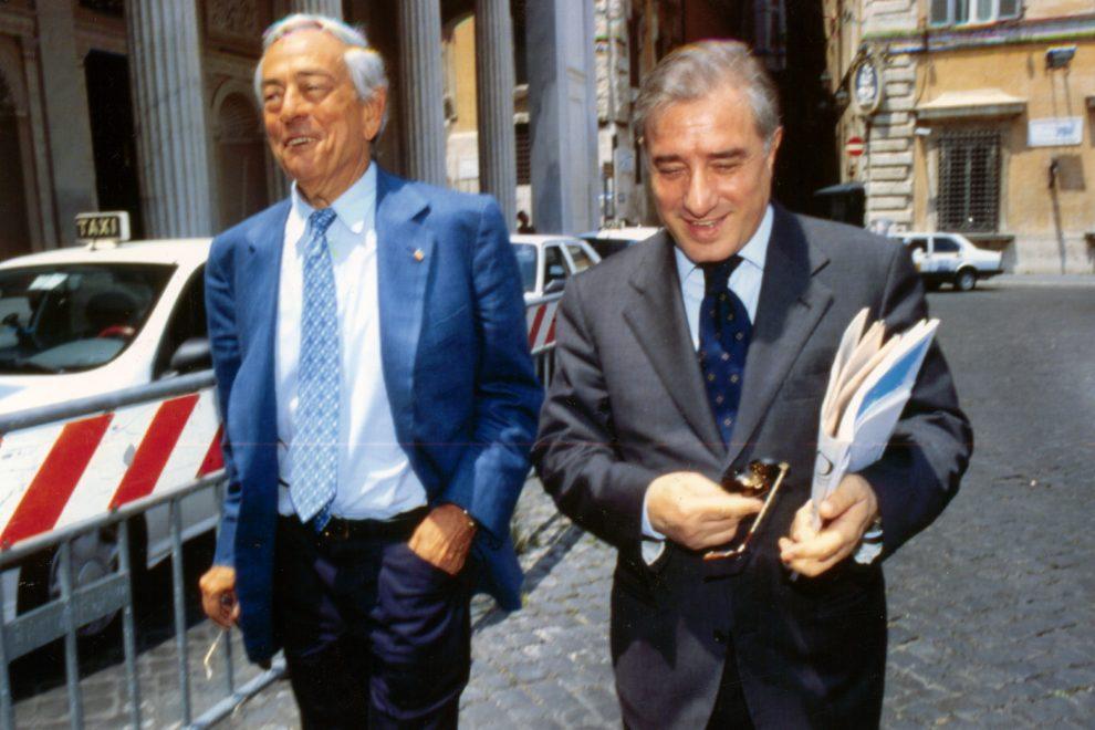 Cesare Previti e Marcello Dell'Utri