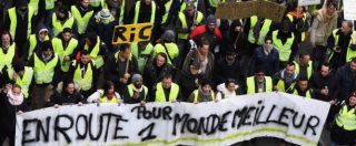 """Gilet gialli, a Parigi in scena Atto XI della manifestazione: scontri con la polizia. Attesa per la prima """"notte gialla"""""""