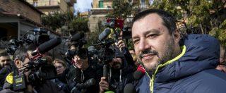 """Diciotti, Salvini: """"Io a processo? Evidente invasione di campo di giudici di sinistra. Se M5s vota a favore non sarà crisi"""""""