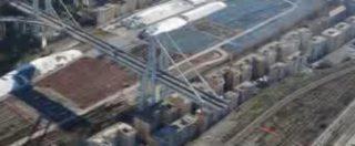 Ponte Morandi, le ultime immagini dall
