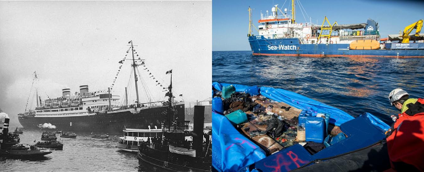Sea Watch, con quei migranti stiamo rivivendo il dramma della St. Louis