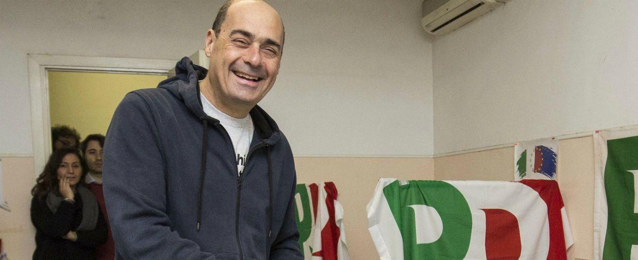 """Primarie Pd, scontro sui numeri. In testa nei circoli c'è Zingaretti, ma non basta: """"Stop polemiche, la partita è aperta"""""""
