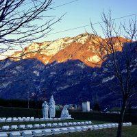 Fortogna-Cimitero delle vittime del Vajont
