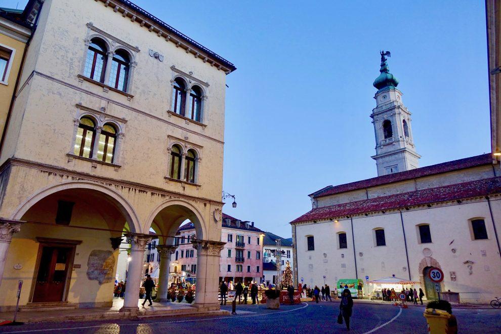 Piazza Duomo a Belluno